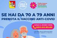 Vaccinazione anti covid 19 70-79 anni